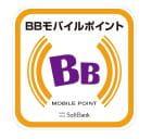 BBモバイルポイントのステッカー